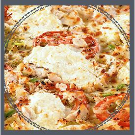 La pizza Boisee