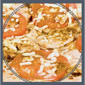 La pizza Tandoori