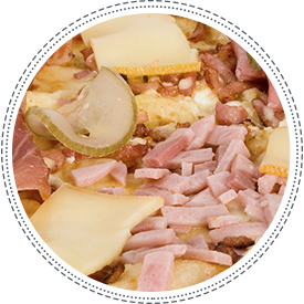 La pizza Raclon